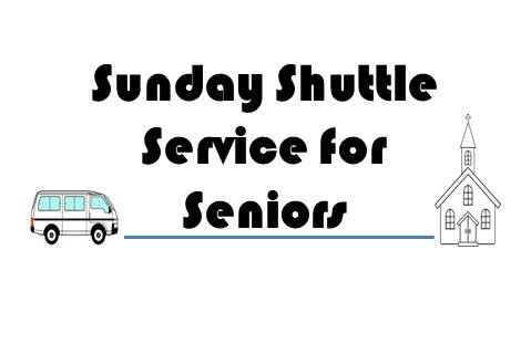 Sunday Shuttle Service for Seniors